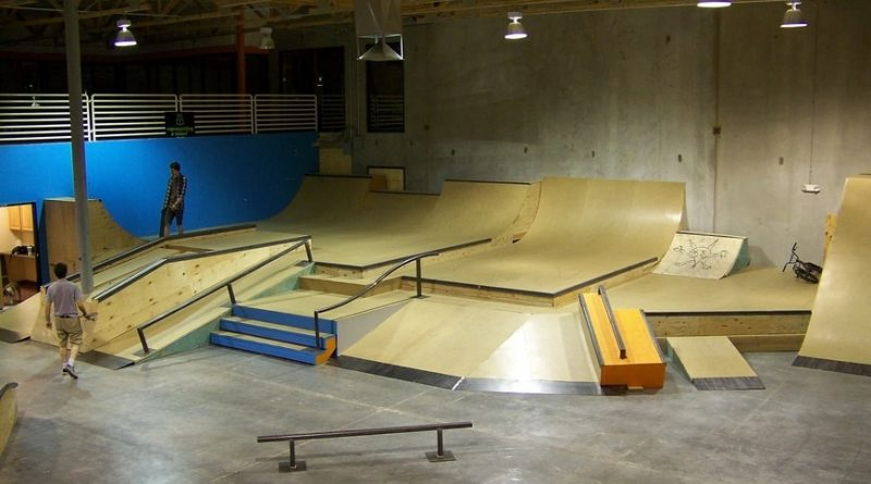 High Tech Deck Skate Park Materials
