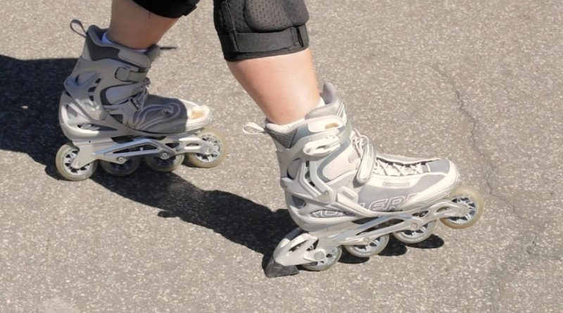 How to stop when you are riding Inline Skates