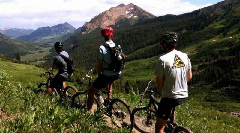 Mountain Bike 401 Trail, Crested Butte, CO, USA