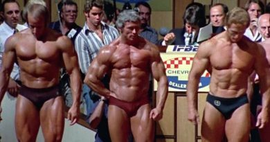 The Camera Loves Paul Grant in Pumping Iron