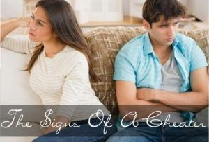 The Signs Of A Cheater