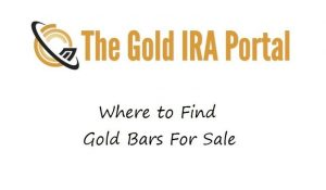 Where to Find Gold Bars For Sale