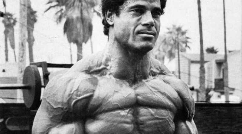 Franco Columbu - Doctor, Actor and Bodybuilder