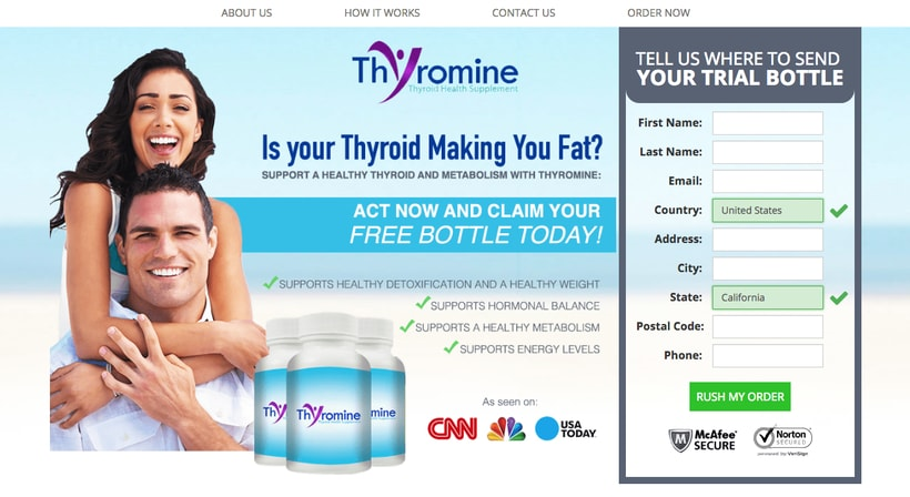 Thyromine - Thyroid-Health-Supplement
